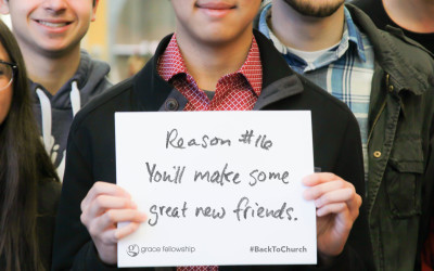 Reason #16 – You'll make some great new friends