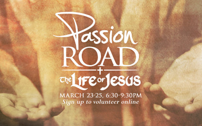 Passion Road 2016 Volunteer Sign up
