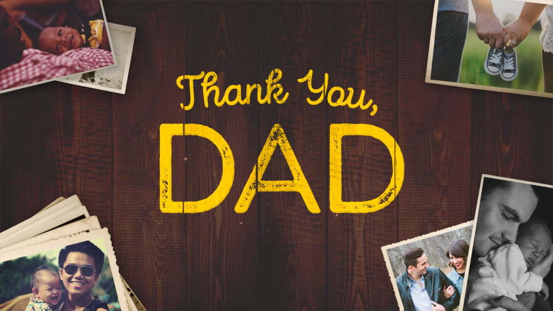 Thank You, Dad