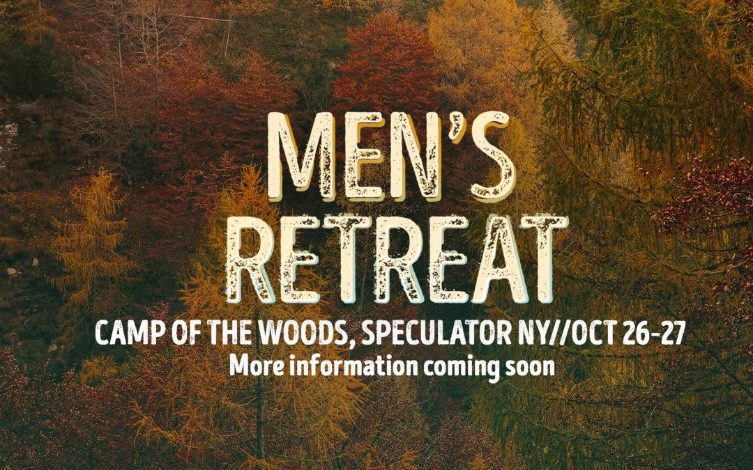 Saratoga Men's Fall Retreat