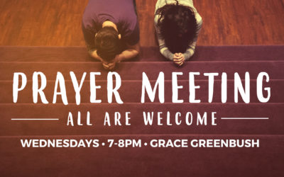 Greenbush Prayer Night, Wednesdays in May and June starting May 10th