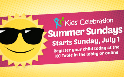 Halfmoon Kids' Celebration Summer Sundays
