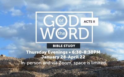 God of the Word: Acts II