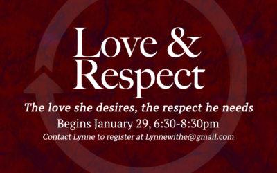 Saratoga: Love & Respect Bible Study