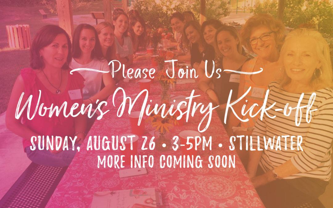 Saratoga Women's Ministry Fall Kick Off