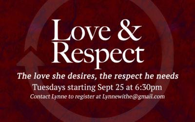 Saratoga Love & Respect  Study