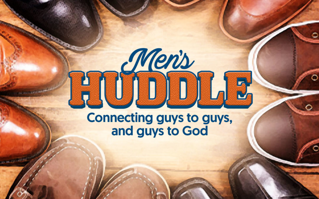 Men's Huddle – Football watching party Sunday, October 22nd 4pm