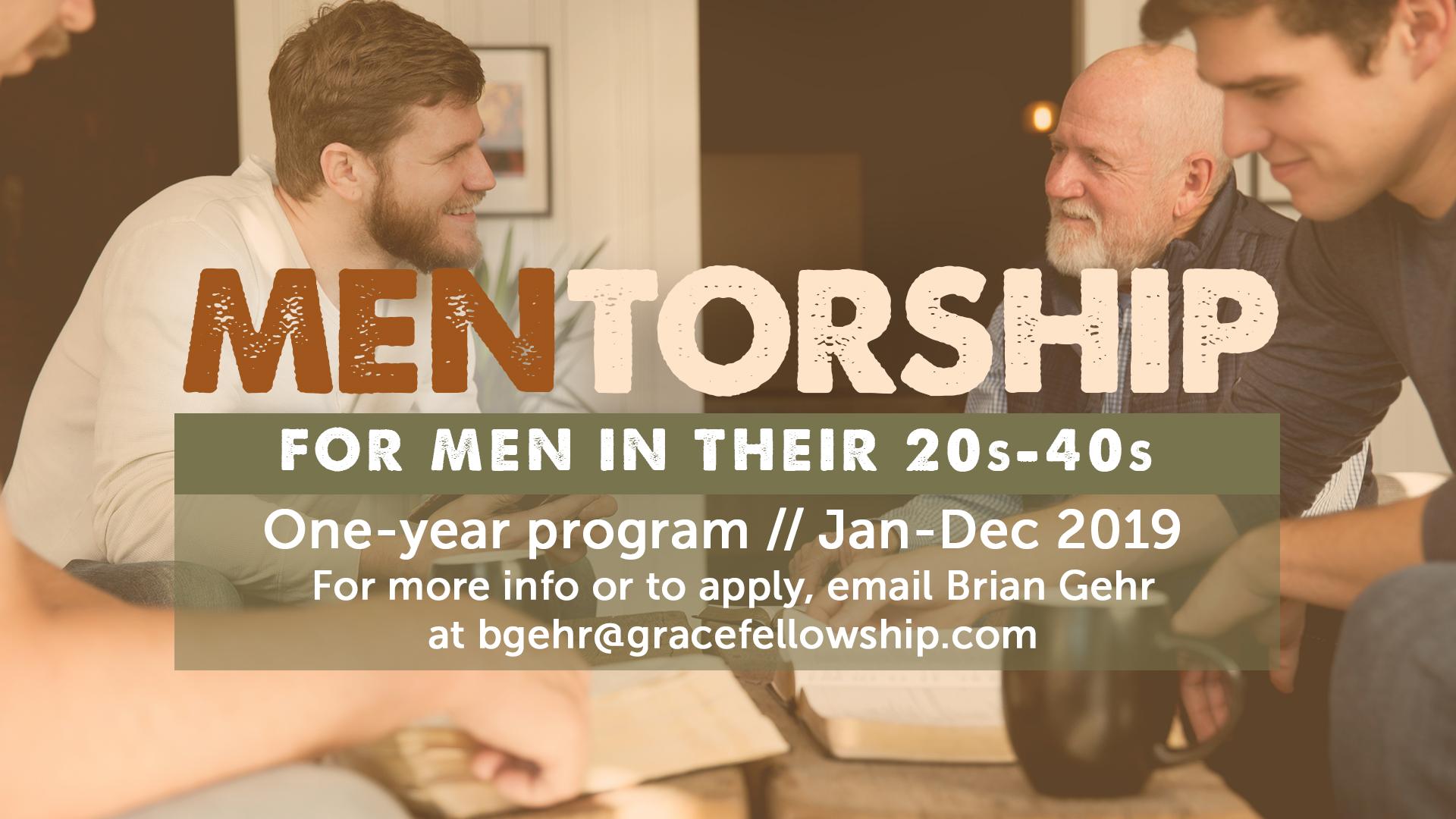 Men's Mentorship Program