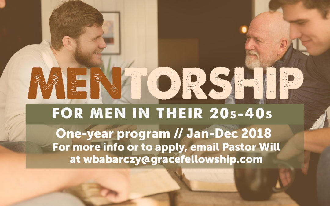 Men's Mentorship Program