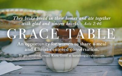 Grace Tables
