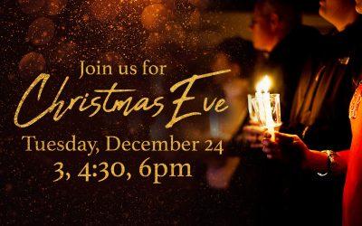 Christmas Eve at Grace Fellowship Saratoga