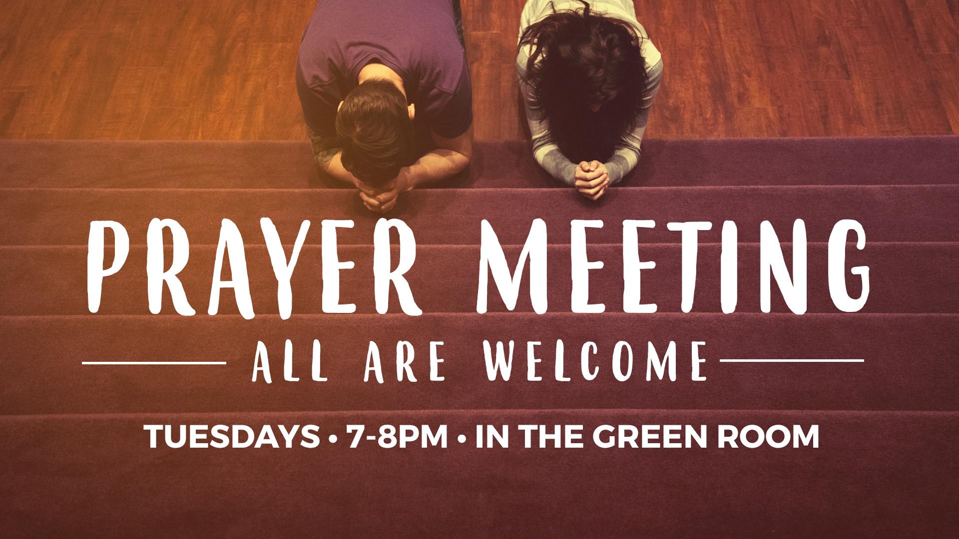 Greenbush Prayer Meeting