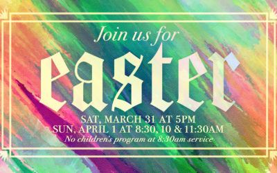 Easter Services at Latham