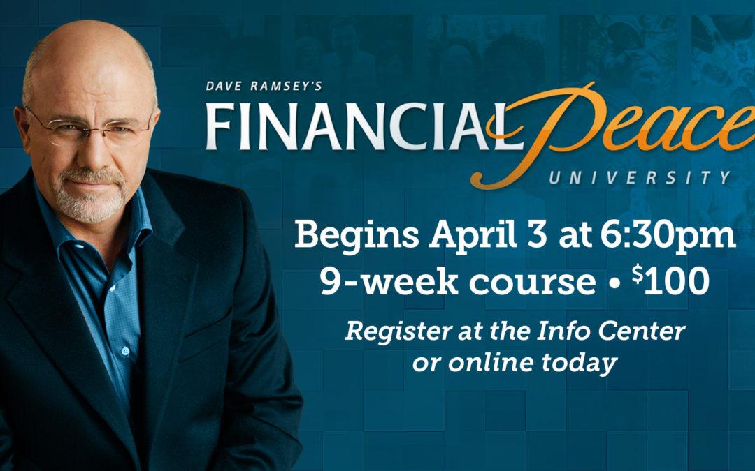 Financial Peace University (FPU) – Saratoga