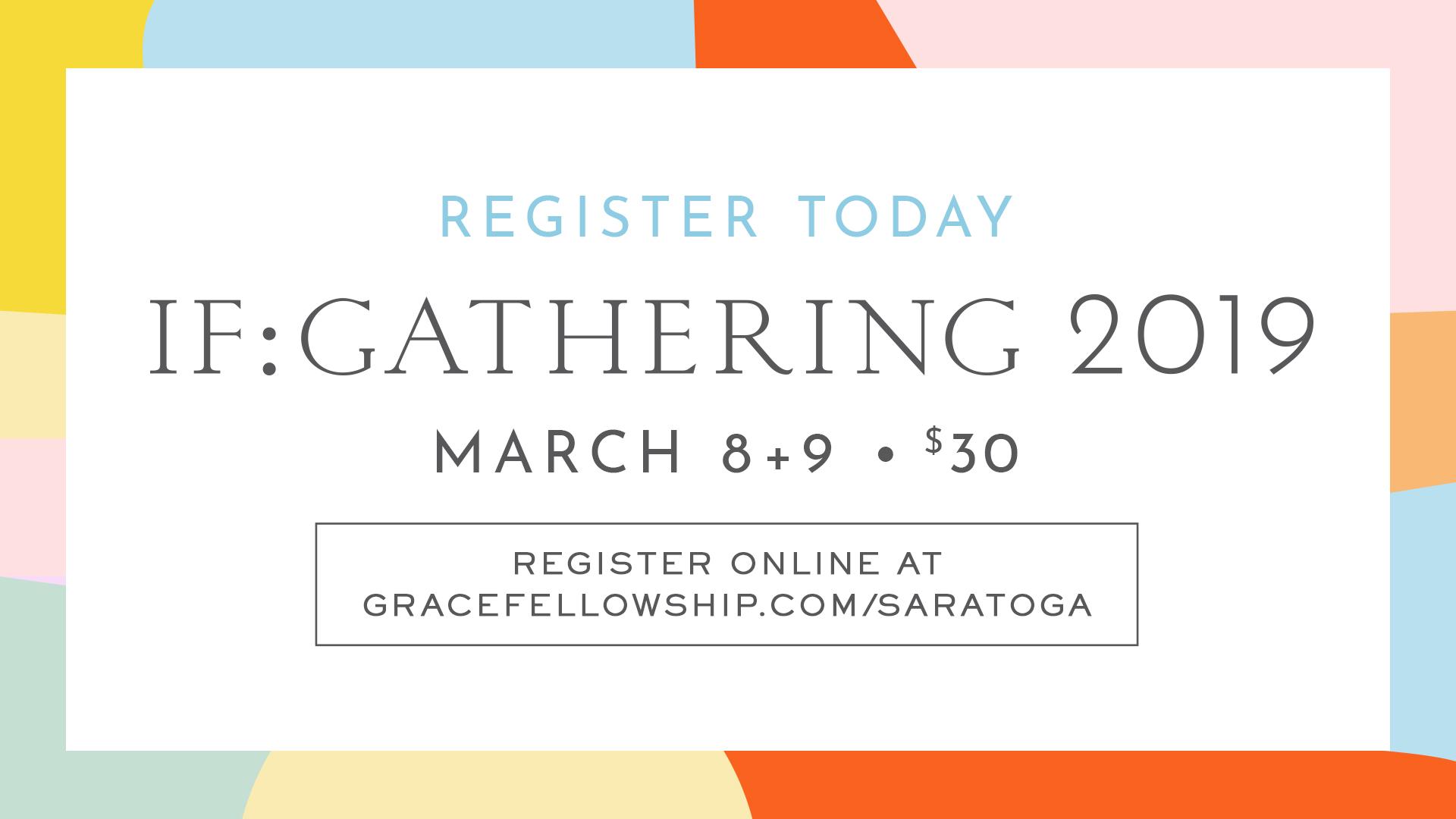 Saratoga IF:Gathering 2019