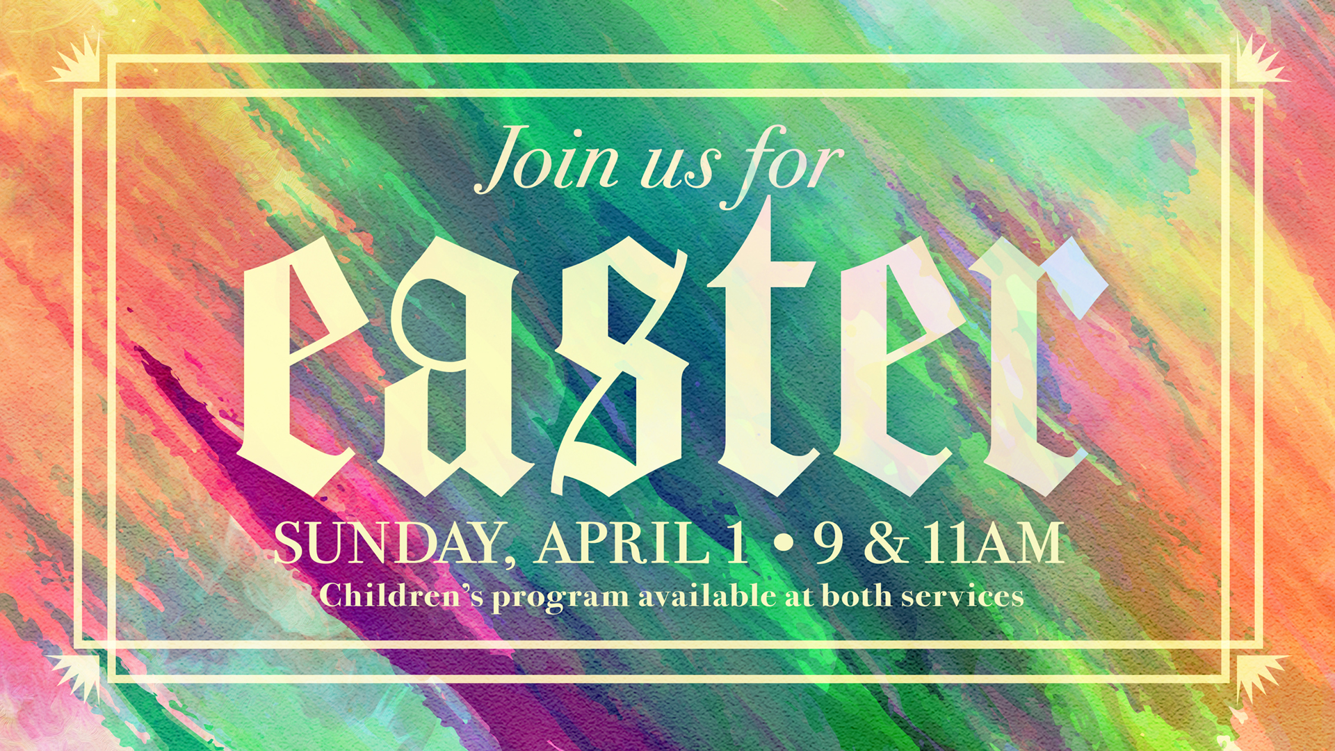 Easter Services at Greenbush