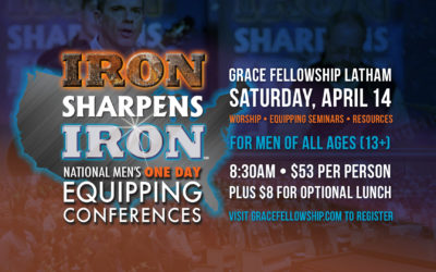 Iron Sharpens Iron Men's Conference at Latham