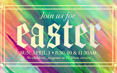Easter at Grace Fellowship Saratoga