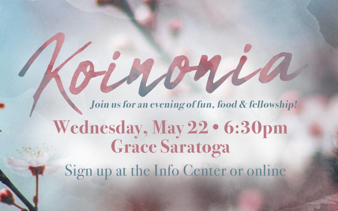 Women's Spring Koinonia