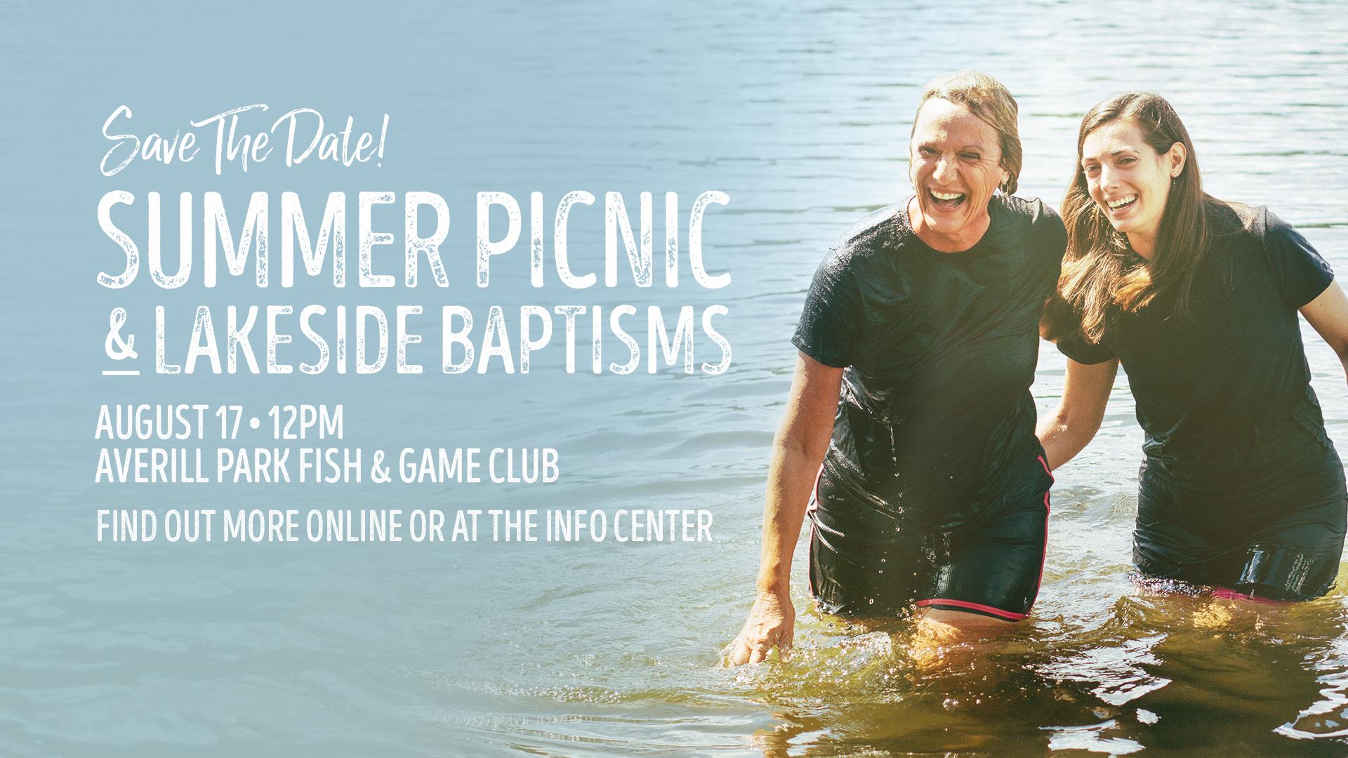 Greenbush Summer Picnic at the Lake!