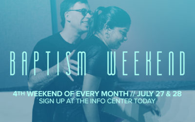 Latham Baptism Weekend Coming Soon!