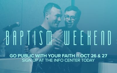 Latham Baptism Weekend Coming Soon!