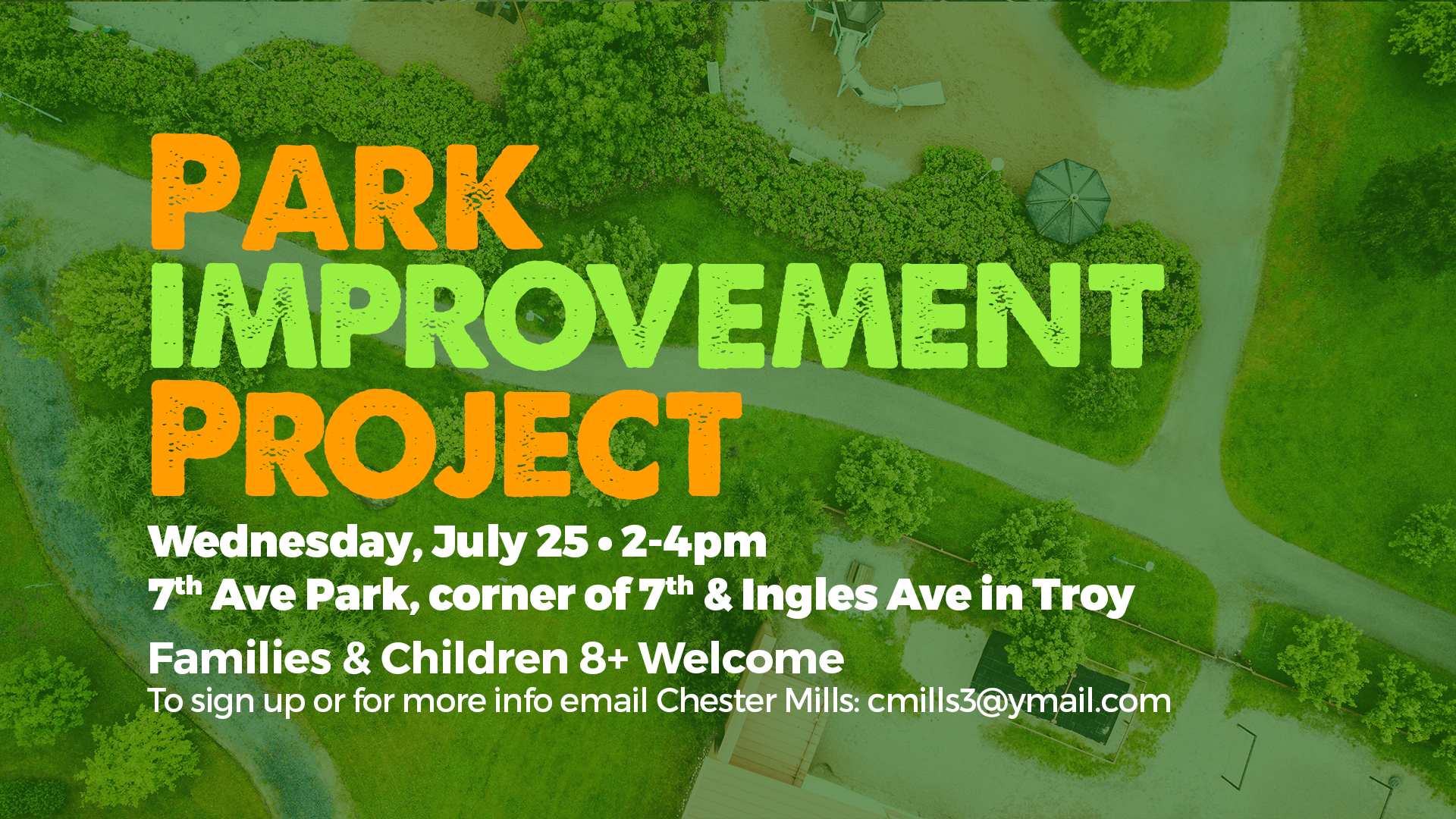 Neighborhood Park Improvement Project – family project
