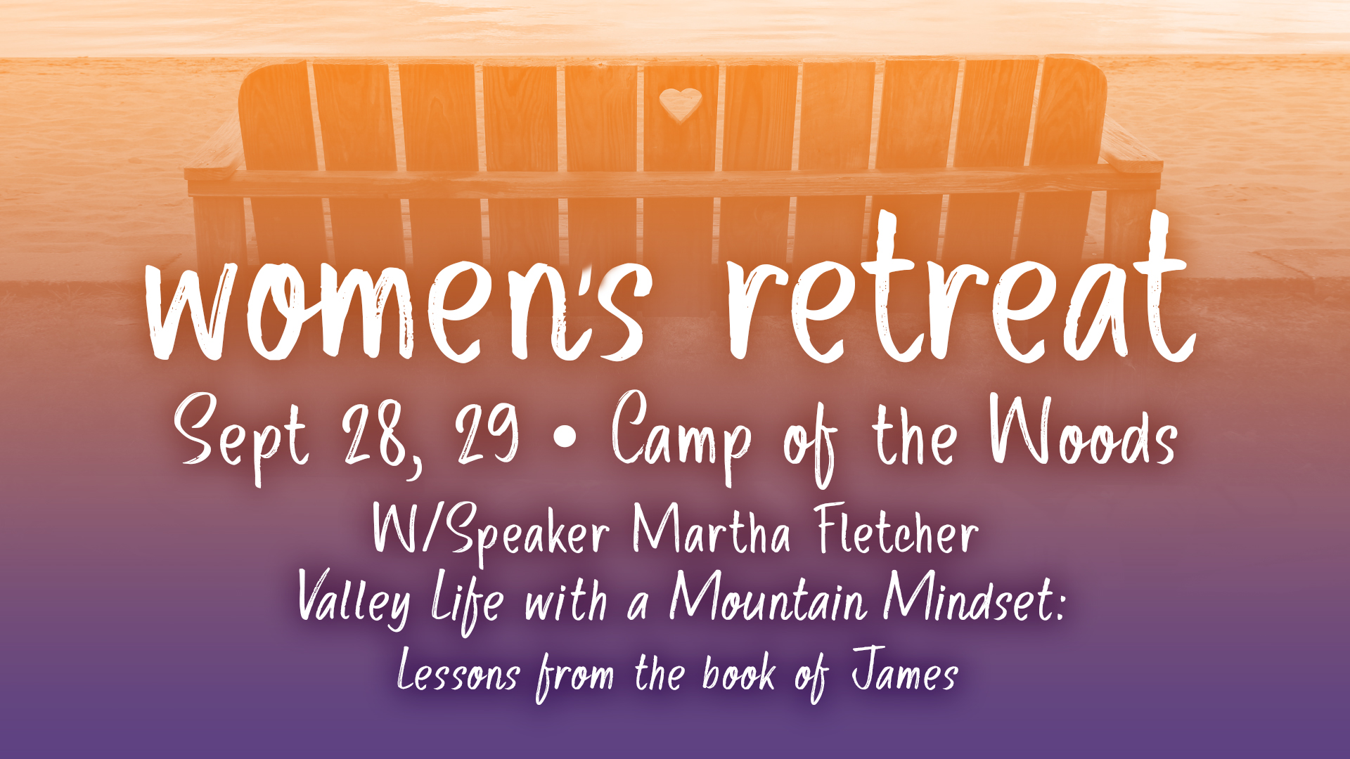 Saratoga Women's Fall Retreat: Valley Life with a Mountain Mindset