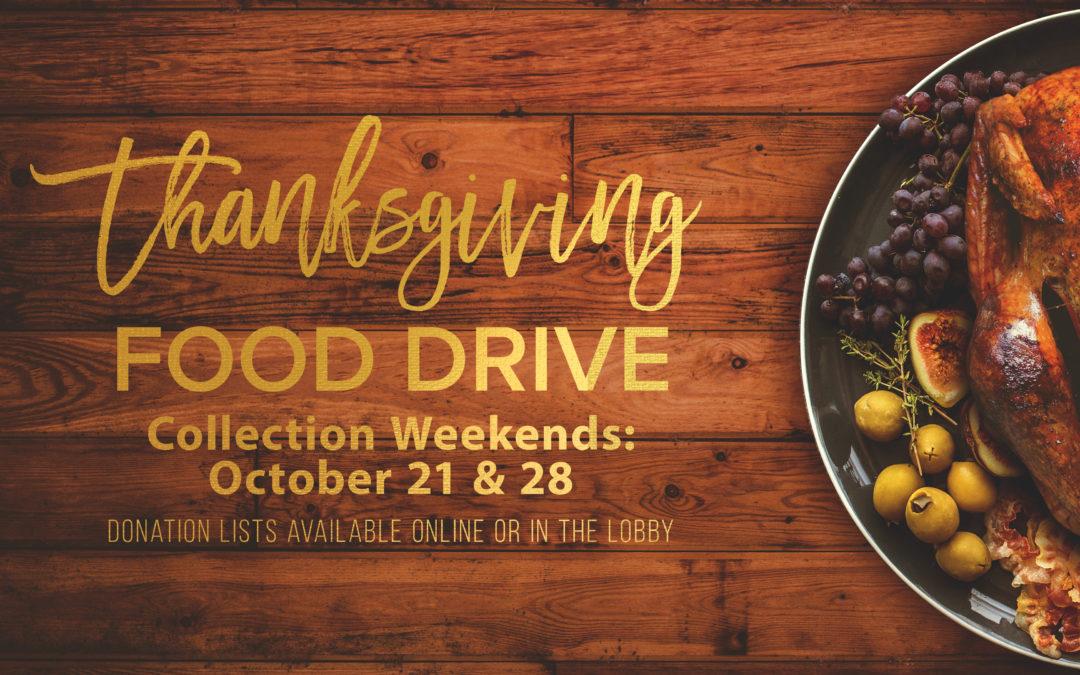 Greenbush Thanksgiving Food Drive