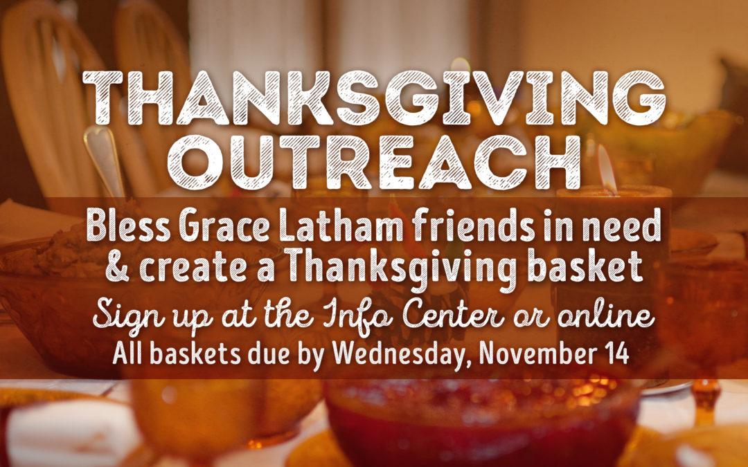 Latham Thanksgiving Outreach