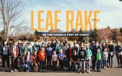 Halfmoon Leaf Rake // Saturday November 6, 2021
