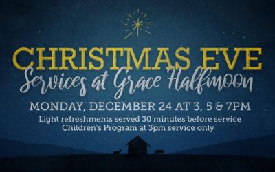 Christmas Eve Services at Halfmoon