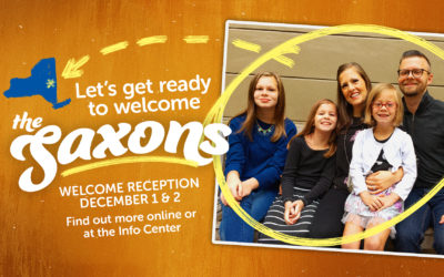 Saxon Family Welcome Reception