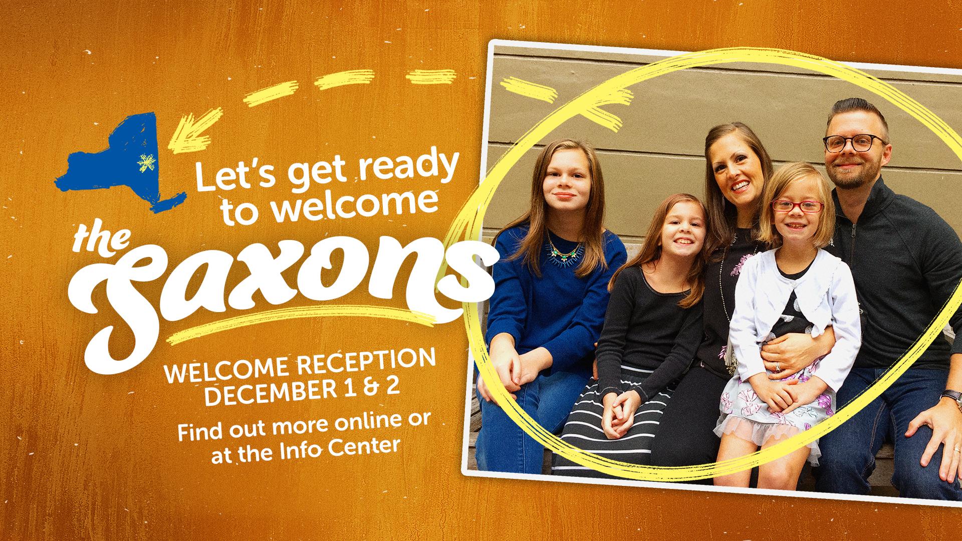 Saxon Family Welcome Reception