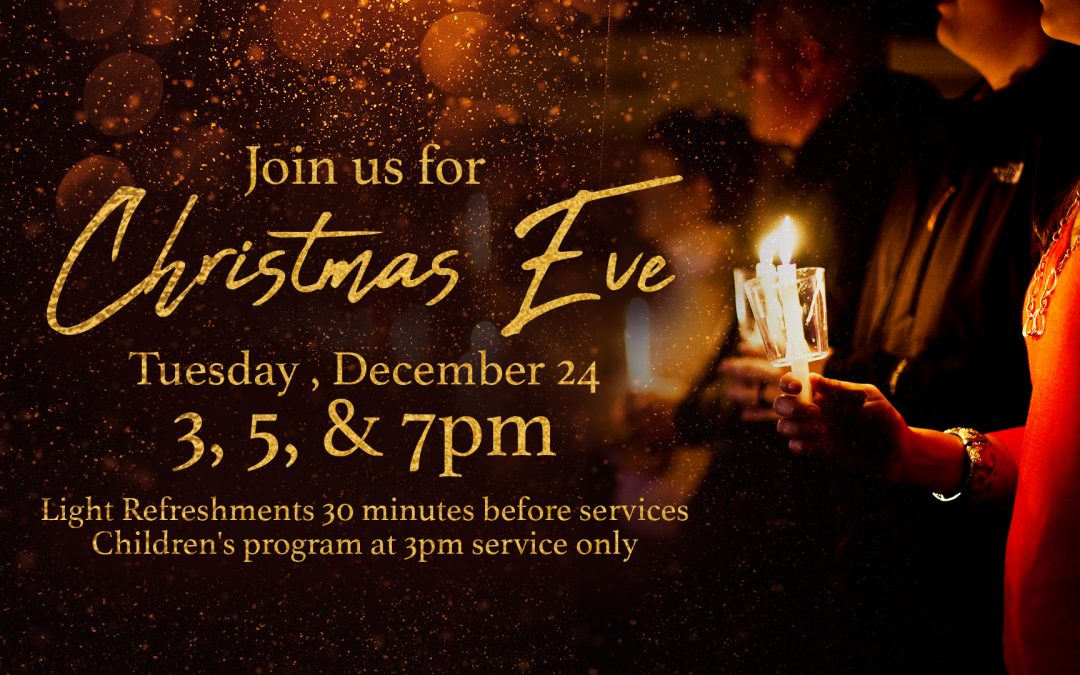 Christmas Eve Services at Halfmoon