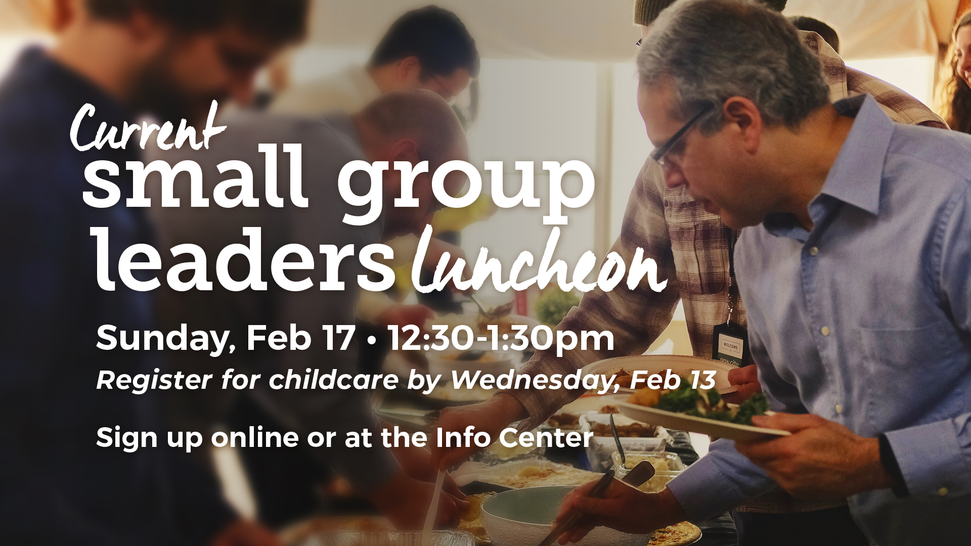 Halfmoon Current Small Group Leaders Luncheon