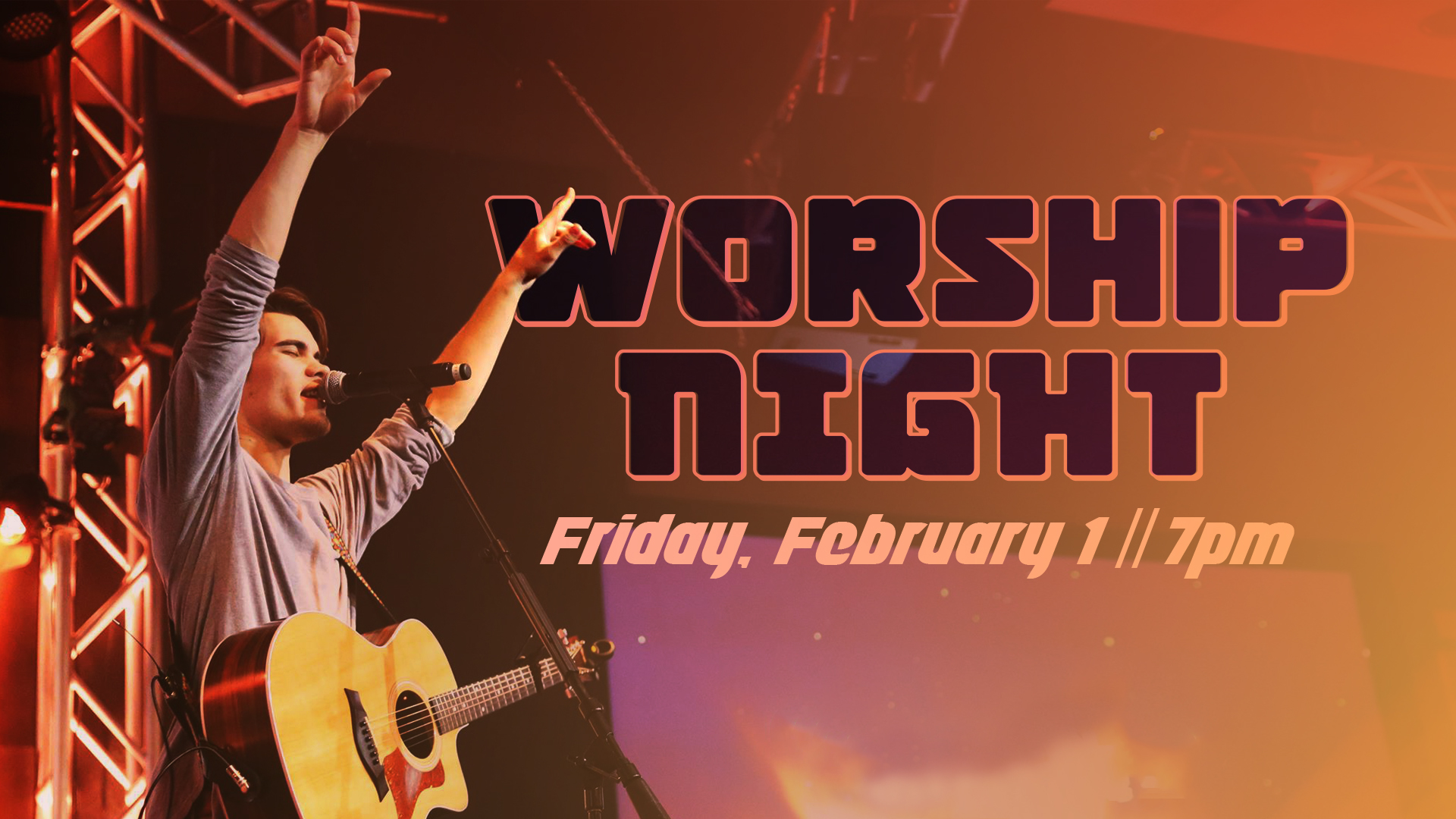 Halfmoon Worship Night