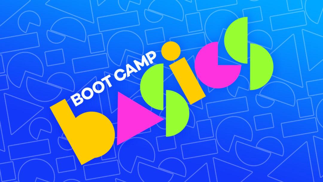 Boot Camp Basics