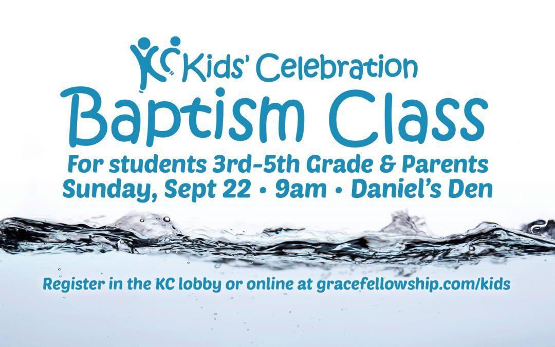 Latham KC Baptism Class