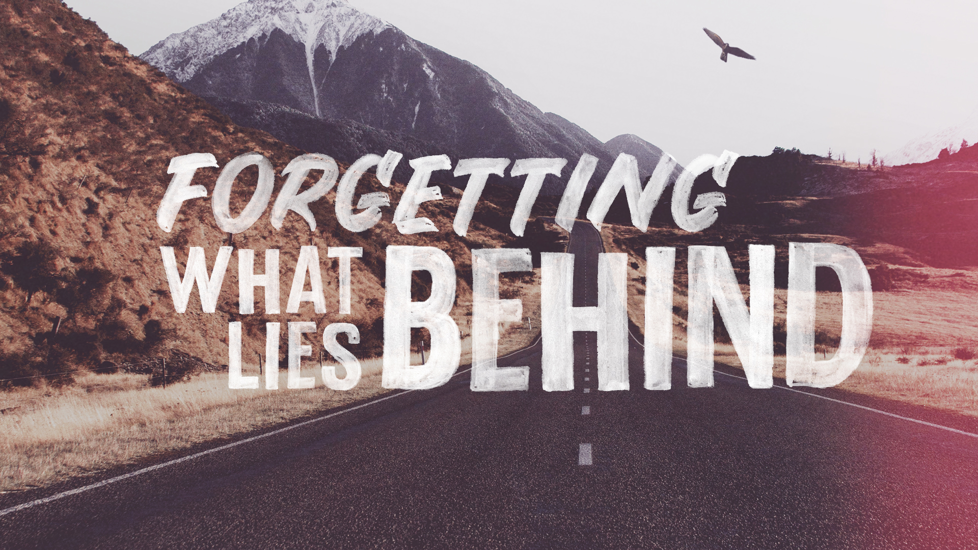 Forgetting What Lies Behind