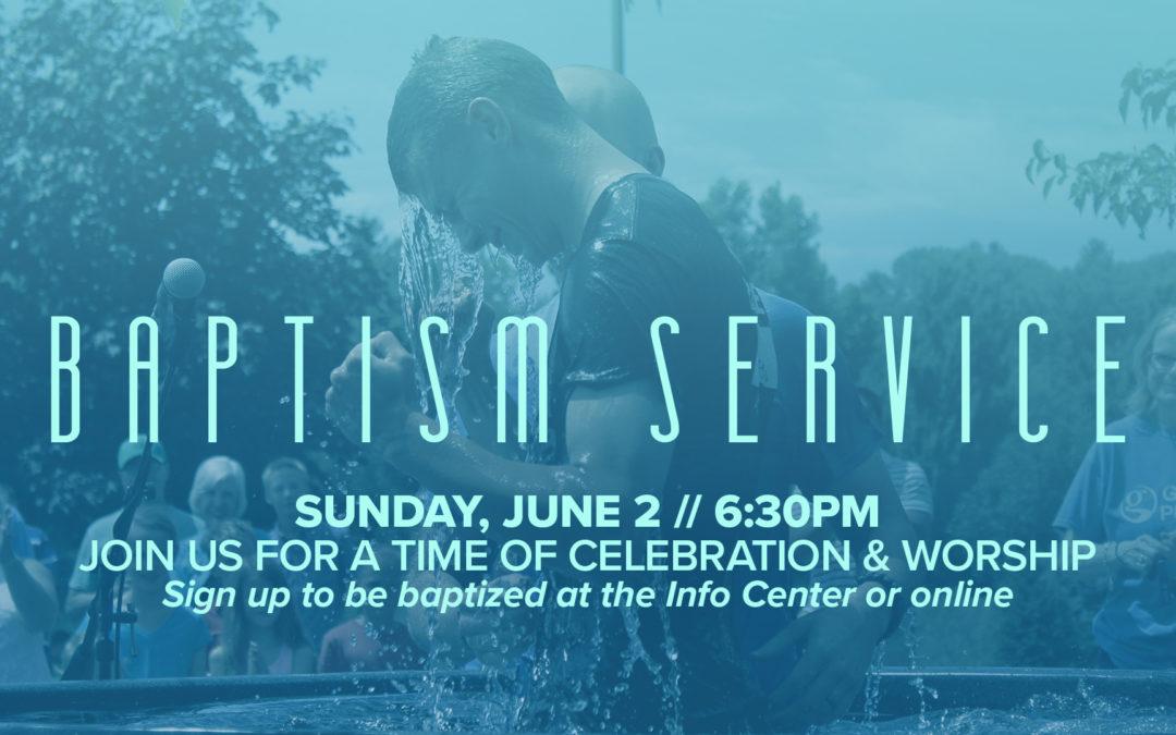 Halfmoon Baptism Celebration June 2, 2019
