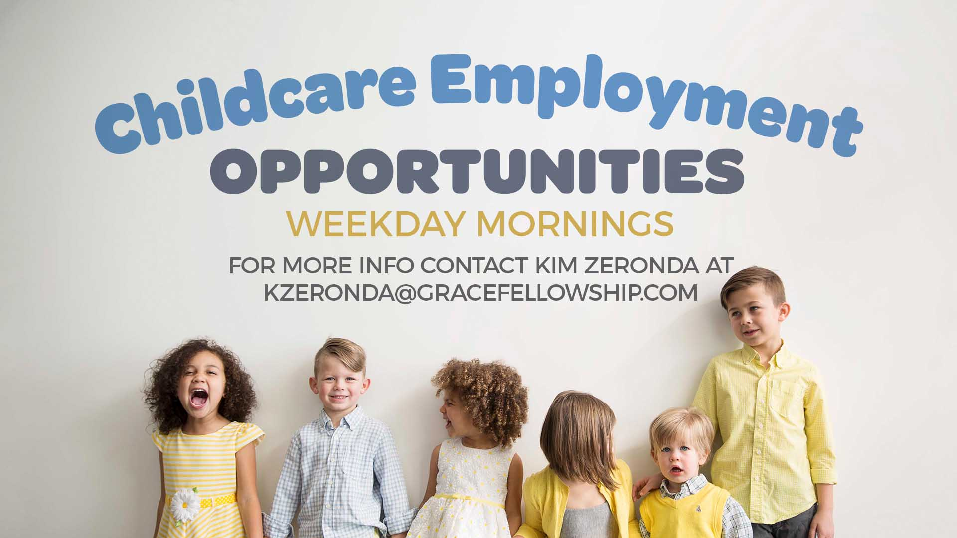 Childcare Employment Opportunities