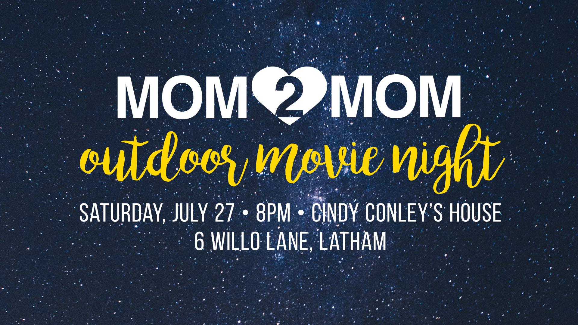 Mom2Mom Movie Night