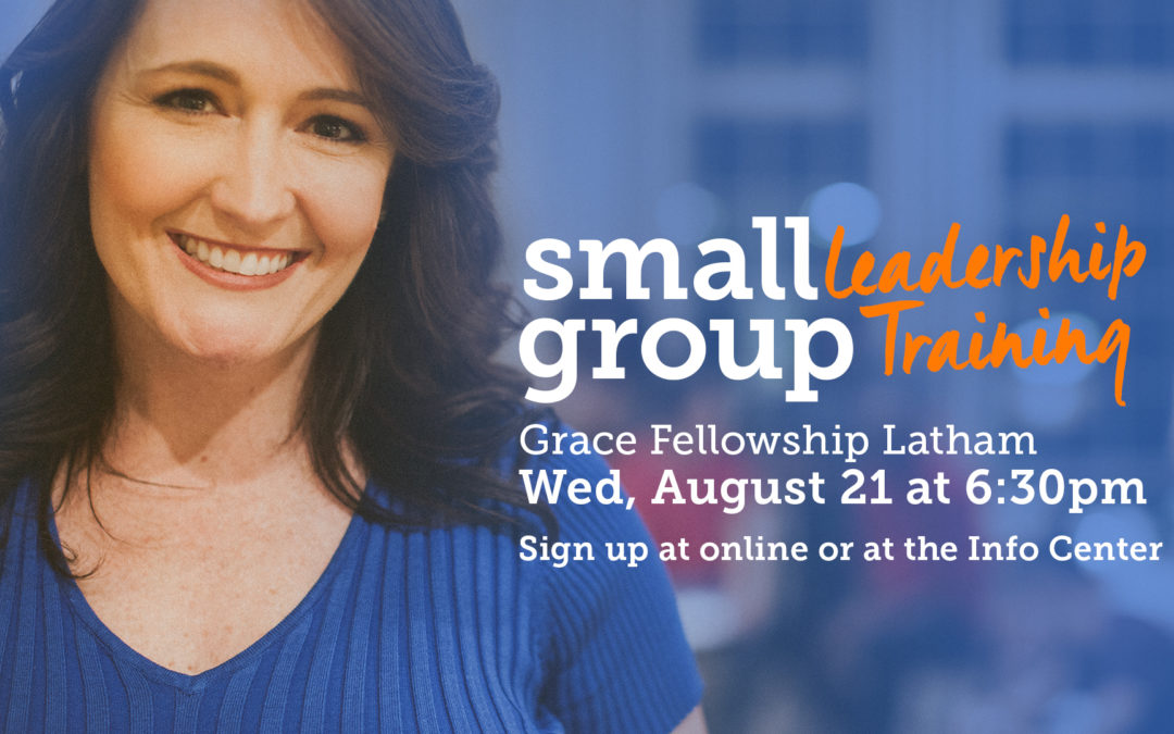 Small Group Leadership Training Class
