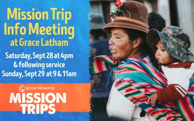 Mission Trip Info Meeting