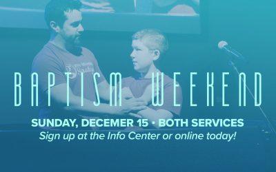 Baptisms at Grace Fellowship Saratoga