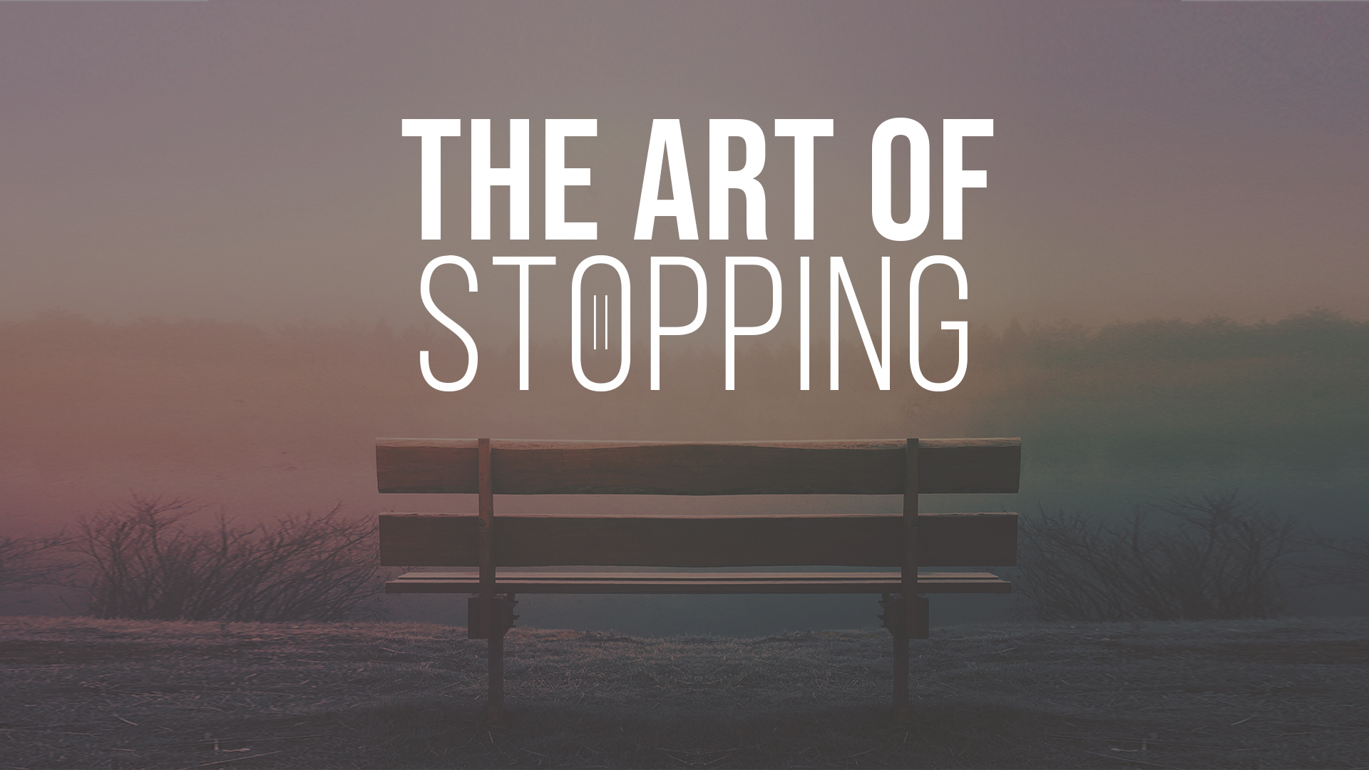 The Art of Stopping