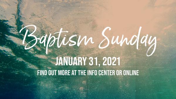 Halfmoon Baptism Sunday