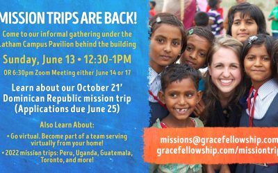 Mission trips are back!