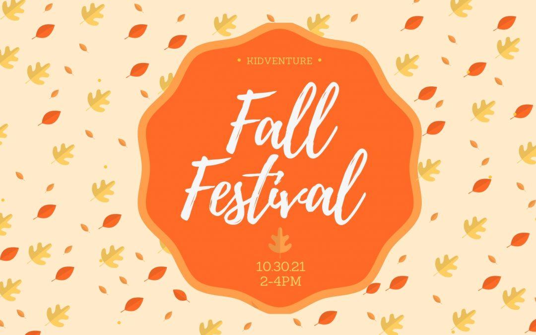 Latham Kidventure Fall Festival